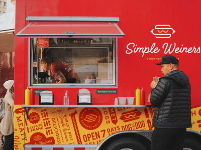 Simple Weiners Logo & Branding Design