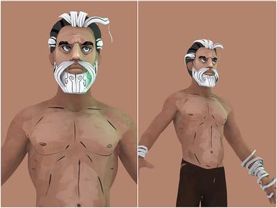 Zeus | Character redesign | Z doodling.
