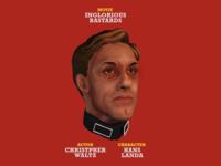 Hans Landa / Christopher Waltz