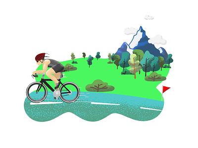 bicycle nature gravit designer bicycle