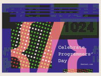Celebrate Programmers' Day - Poster