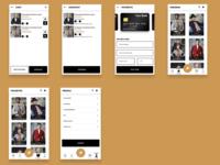Fashion E- Commerce Concept
