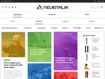 Web Blog Concept