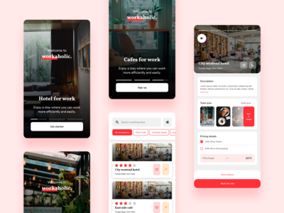 Workplace booking concept