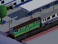 Main rail train station (in progress)