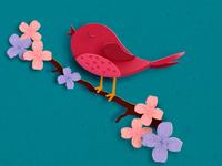 Spring Bird Small