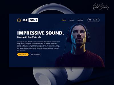 Branding website Design Landing page