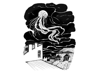 Sky jellyfish