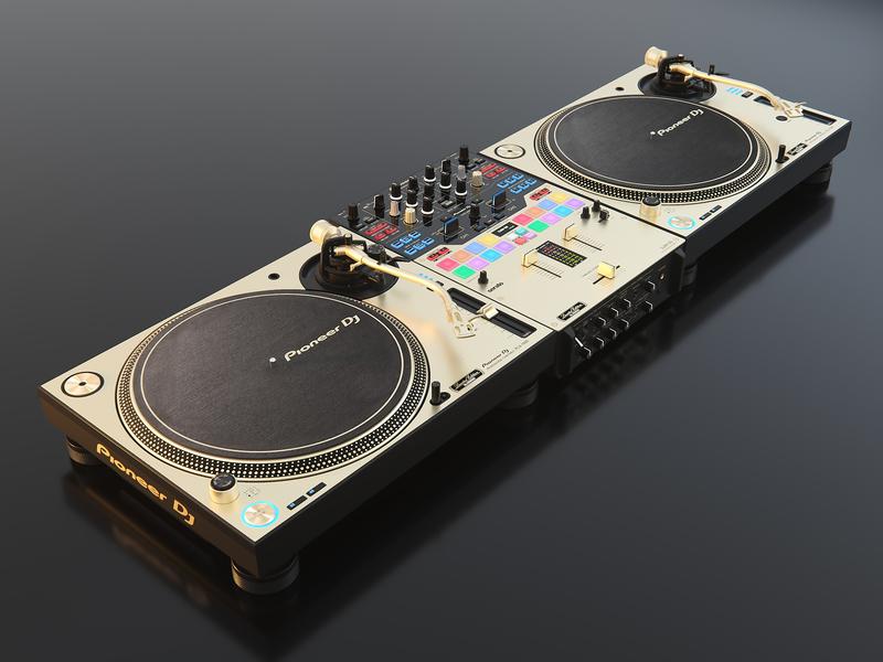 DJM-S9-N  PLX-1000-N 3d