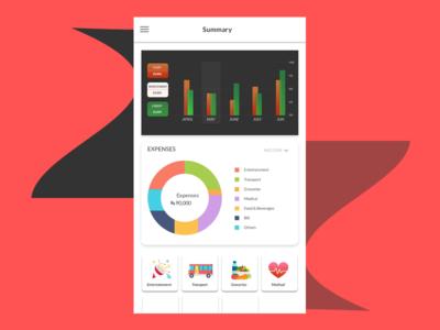 Expenses_summary screen