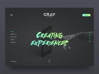 Gray Co. - Concept Website