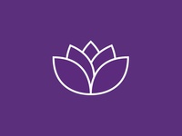 Lotus Flower Logo Mark