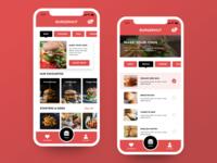 Daily UI #43 - Food/Drinks Menu