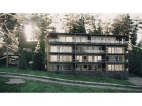 3D Exterior Hotel - Switzerland
