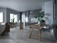 3D Interior - Studio - Norway
