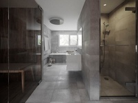 3D Interior - Bathroom
