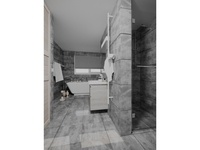3D Interior - Bathroom (Gray variant)