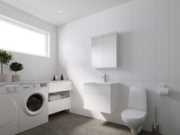 3D Interior - Bathroom - Simple White