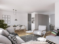 3D Interior - Cozy and Light