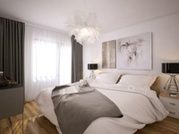 3D Interior - Scandinavian Style - Bedroom