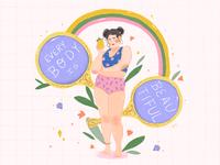 Body Positivity Illustration