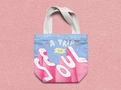 Travel Tote bag Design