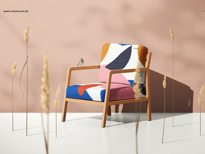 Lounge Chair Mockup Set print color pattern outdoor garden armchair home fabric template mock-up chair template chair design chairs design mockups mockup chair mockup set chair mockups chair mockup chair