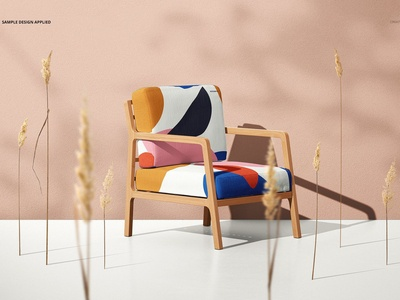 Lounge Chair Mockup Set