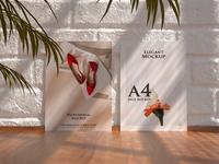 Set of Poster Frame Mockups Vol 2