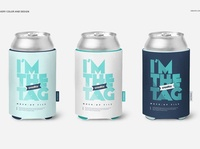 Can Koozie Mockup Set packaging design file psd editable layered can mockups can mockup bottle can bottle template design packaging package mockup template mockup design mockup psd mockups mockup can koozie can