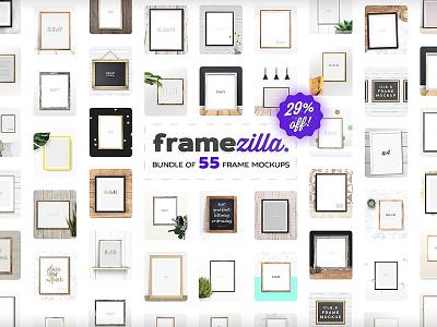Framezilla Bundle. 55 Frame Mockups mockup frame mockup set gold frame mockups bundle frames bundle minimal frame mockup minimal mockup wall frame frame mockups mock-up mockup frame