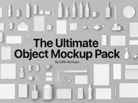 Photoshop Object Mockup Pack