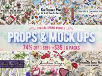 [74% OFF]Props & Mockups Bundle