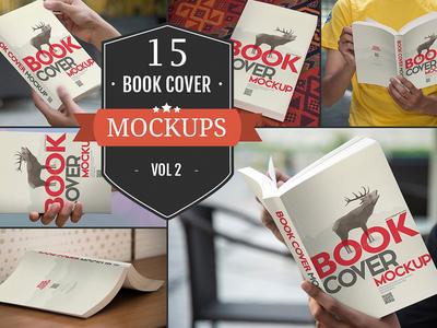 Paperback Book Cover Mockups