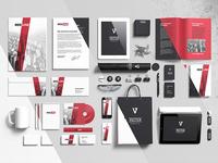 Branding elements mock-ups