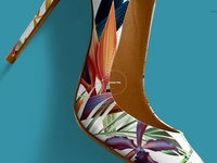 High Heels Shoes Mockup Set