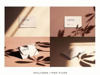 Louve – Stationary Mockups Set I