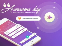 GO-Flight Mobile App - UI kit