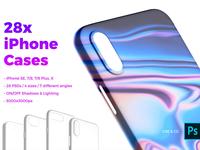 28x iPhone Cases Mockups