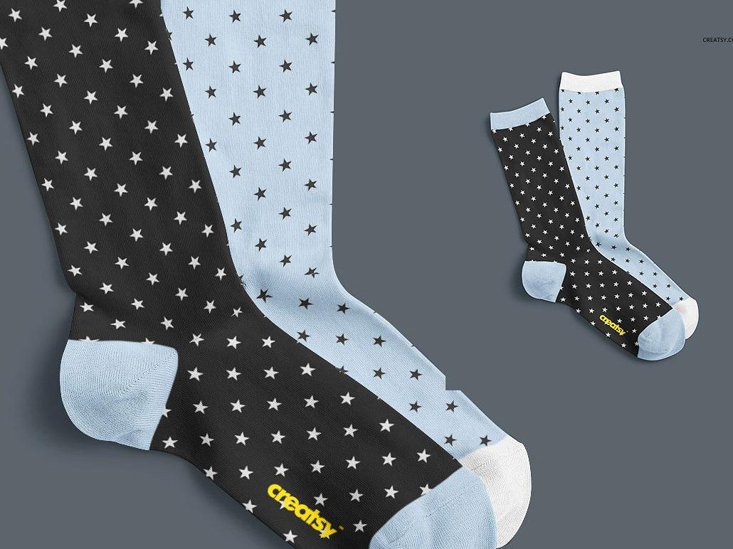 Socks Mockup Set by Mockup5 on Dribbble