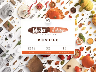 Winter & Autumn Bundle Scene Creator