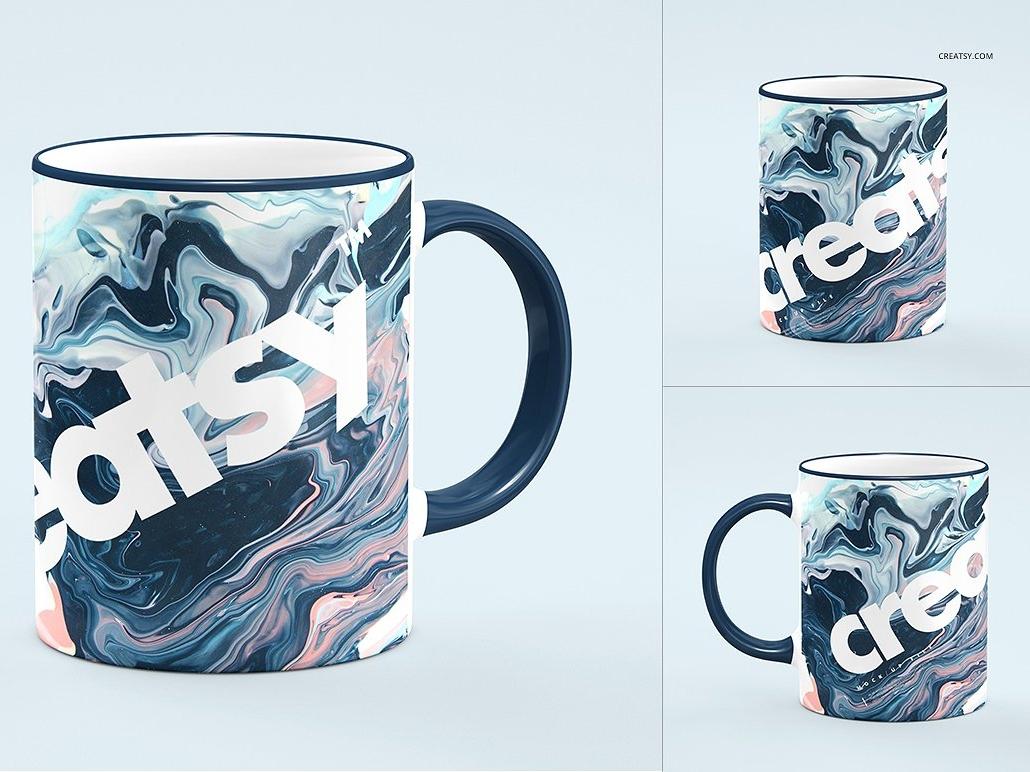 cc04a7af5cb Sublimation Mug 2 Mockup Set by Mockup5 on Dribbble