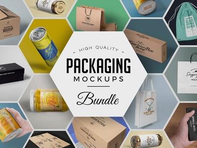 70 Packaging Mockups