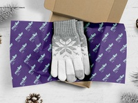 Mailing Wrapping Tissue Paper Mockup
