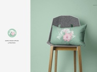 Fabric Factory v.4: Pillow on chairs