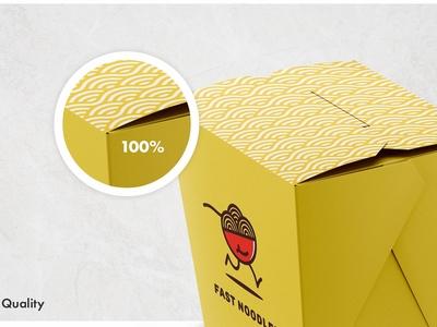 Noodles Box Mockup Set