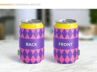 Can Koozie Mock-up