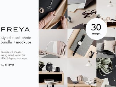 Freya Stock Photo & Mockup Bundle