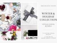 Winter Christmas Styled Stock Bundle