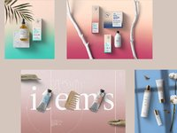 Cosmetics floral stationery 6